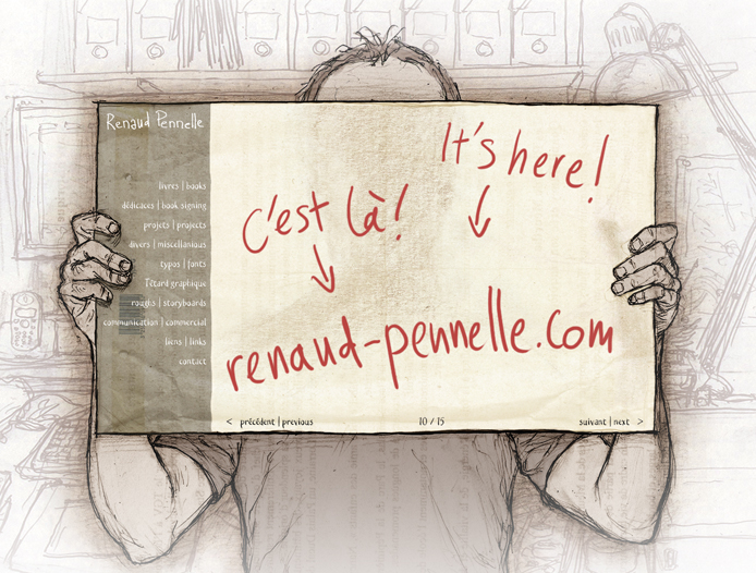 Renaud Pennelle Site